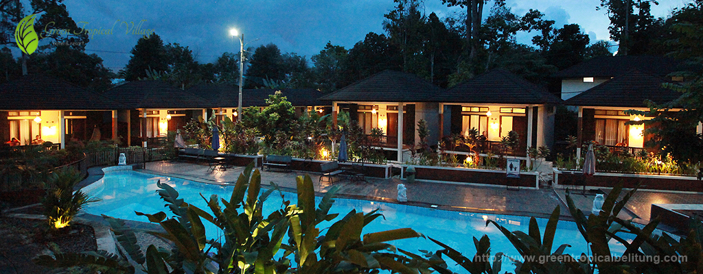 green tropical village green hotel and resort feel the